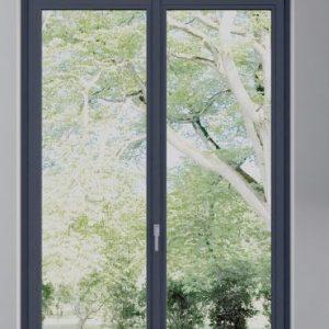 Infissi in pvc - porta finestra - Alfa CC 1 mini