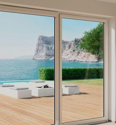 Infissi in pvc di qualità - porta finestra - Alfa CC 2