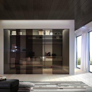 porte in vetro per interni - Alfa Infissi